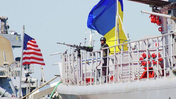 Военные учения Sea Breeze. Архивное фото - Sputnik Узбекистан