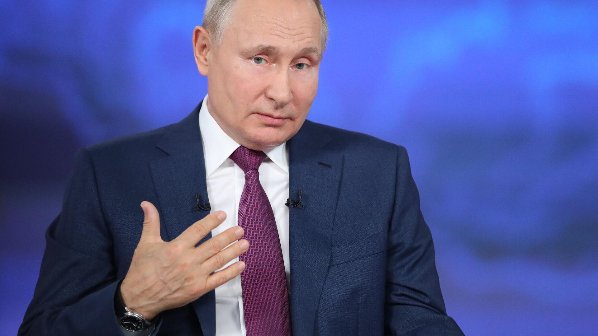 Prezident RF Vladimir Putin - Sputnik Oʻzbekiston, 1920, 02.09.2021