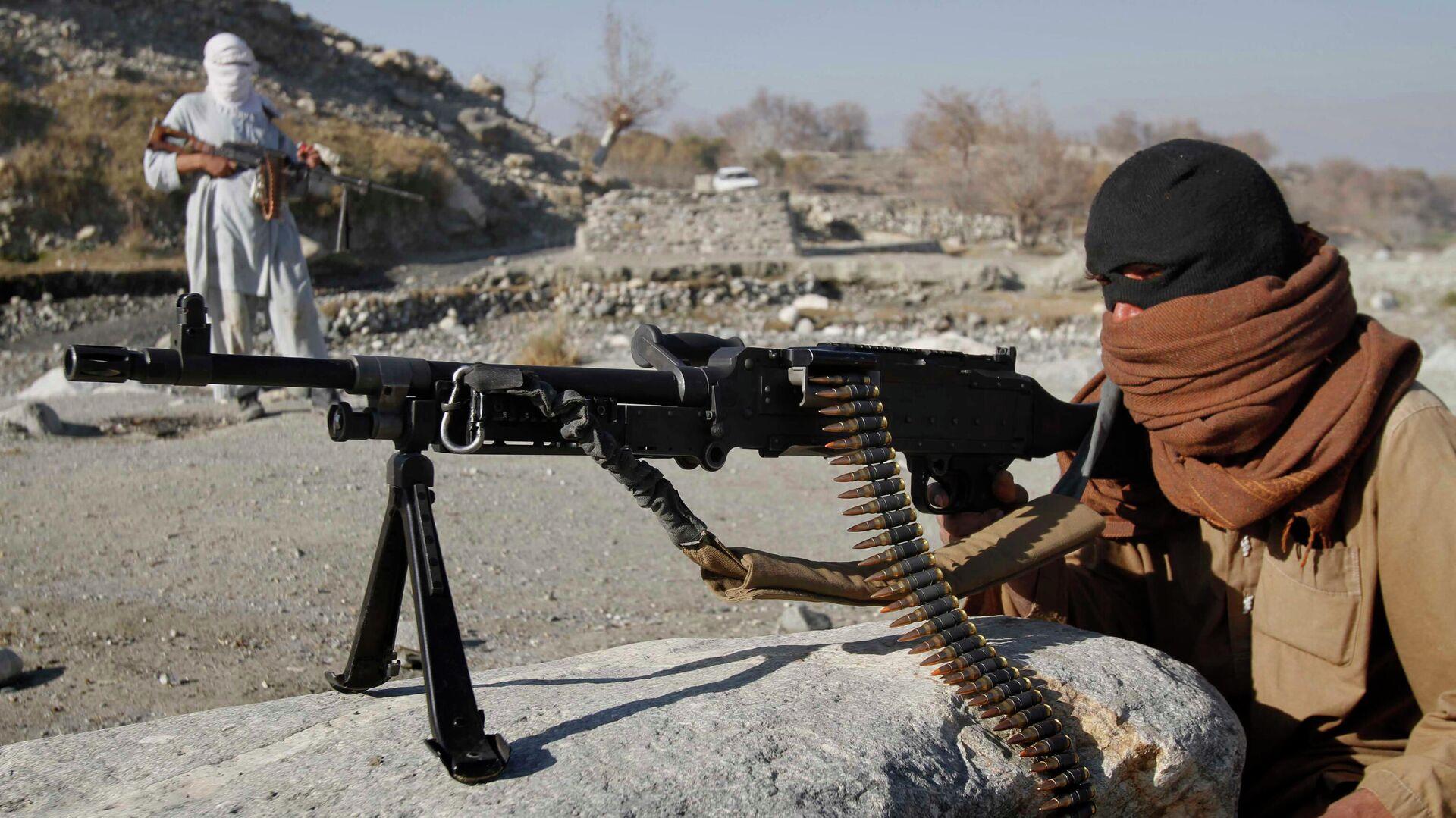 Боевики радикального движения Талибан в Афганистане - Sputnik Узбекистан, 1920, 04.07.2021