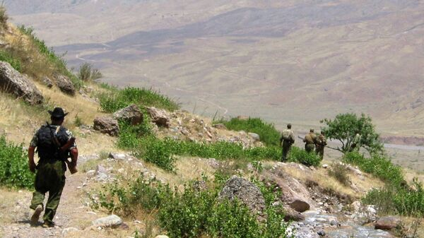 Таджикско-афганская граница  - Sputnik Узбекистан
