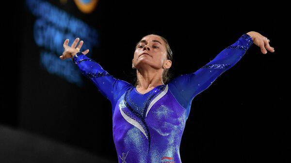 Gimnastka Oksana Chusovitina - Sputnik Oʻzbekiston