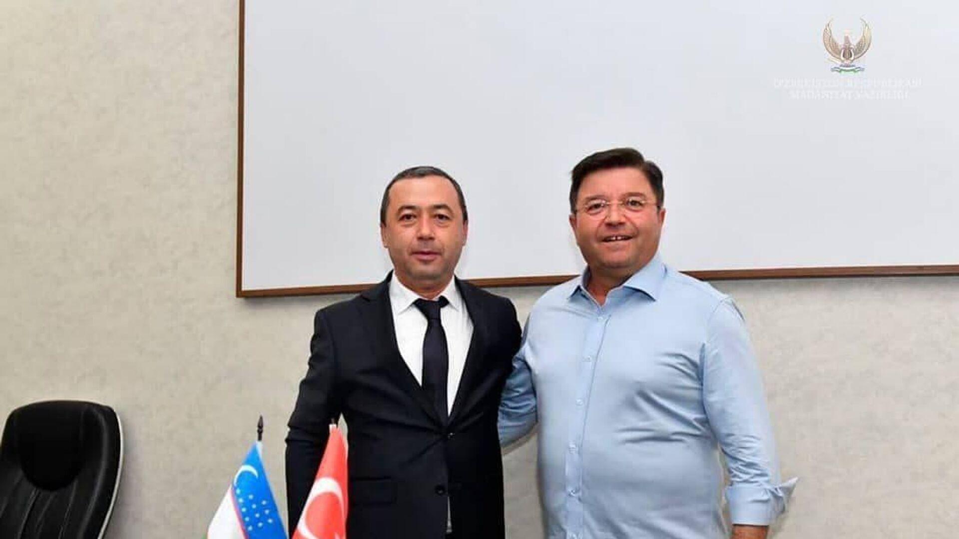 Узбекистан и Турция укрепят сотрудничество в сфере культуры - Sputnik Узбекистан, 1920, 05.07.2021