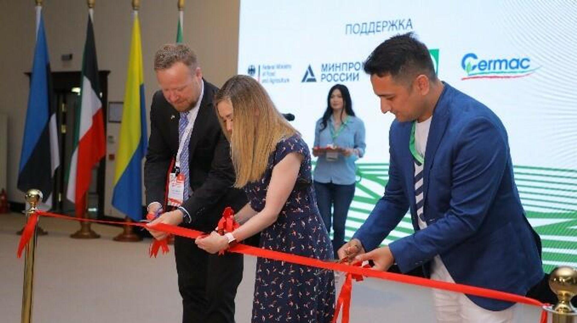 В Ташкенте состоялась международная промышленная выставка AgroExpo Uzbekistan - Sputnik Узбекистан, 1920, 05.07.2021