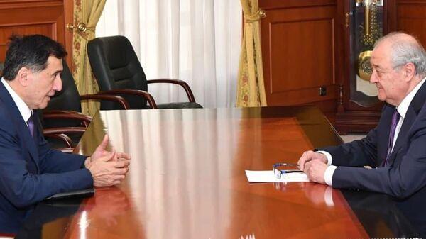 Генсек ШОС обсудил с Камиловым проведение международной конференции в Ташкенте - Sputnik Узбекистан