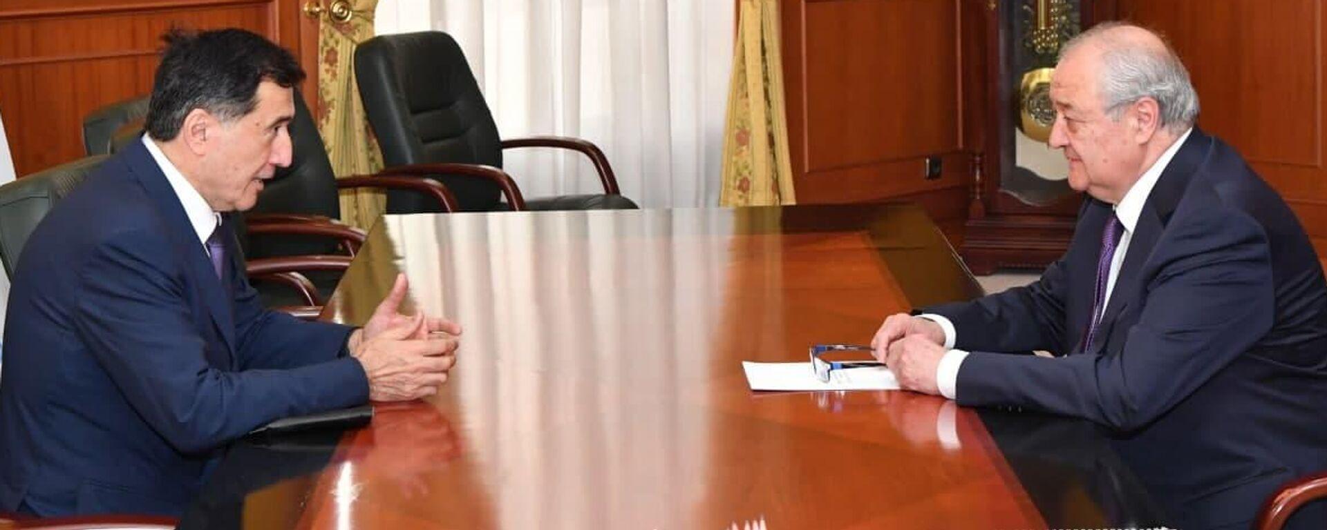 Генсек ШОС обсудил с Камиловым проведение международной конференции в Ташкенте - Sputnik Узбекистан, 1920, 06.07.2021