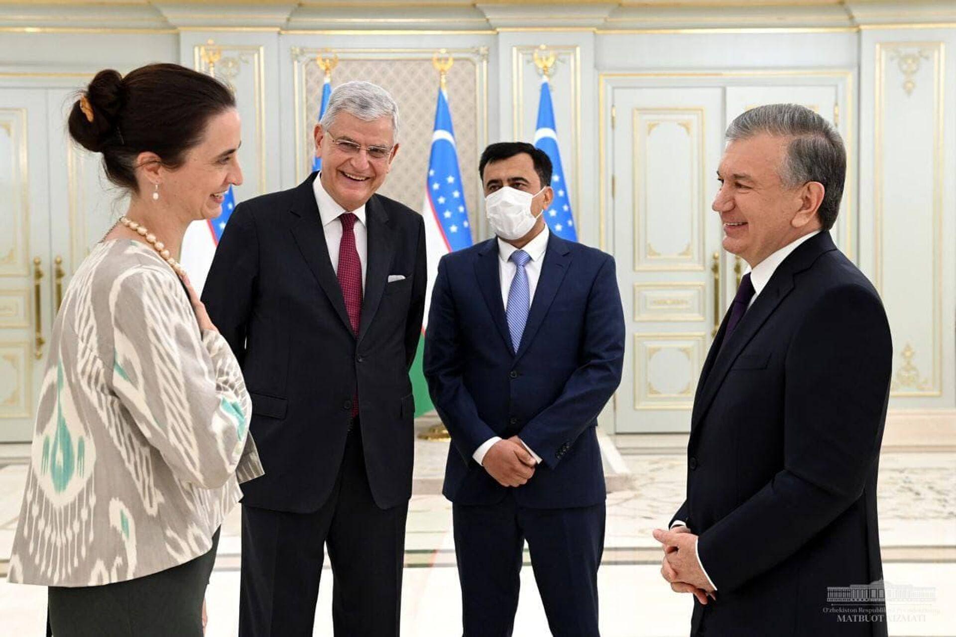 Мирзиёев провел встречу с председателем 75-й сессии Генассамблеи ООН - Sputnik Узбекистан, 1920, 06.07.2021