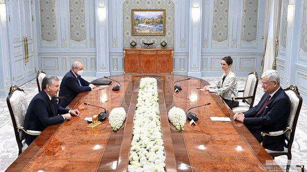 Мирзиёев провел встречу с председателем 75-й сессии Генассамблеи ООН - Sputnik Узбекистан