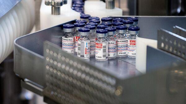 Производство вакцины Sputnik V - Sputnik Ўзбекистон