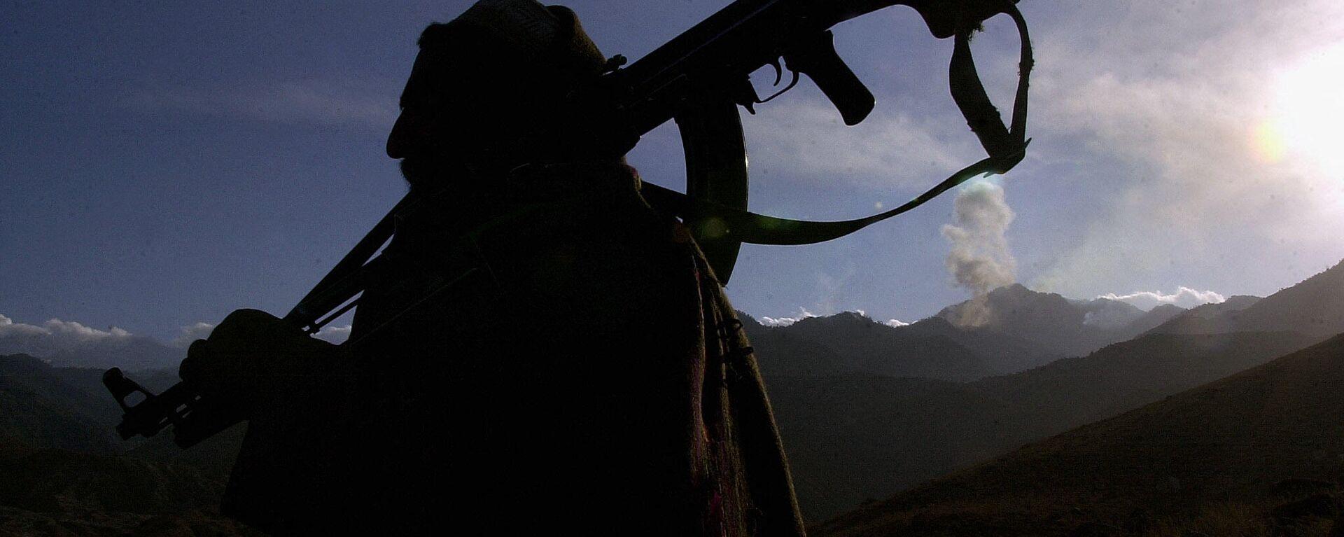 Боевики, запрещенного в РФ, движения Талибан - Sputnik Узбекистан, 1920, 07.07.2021