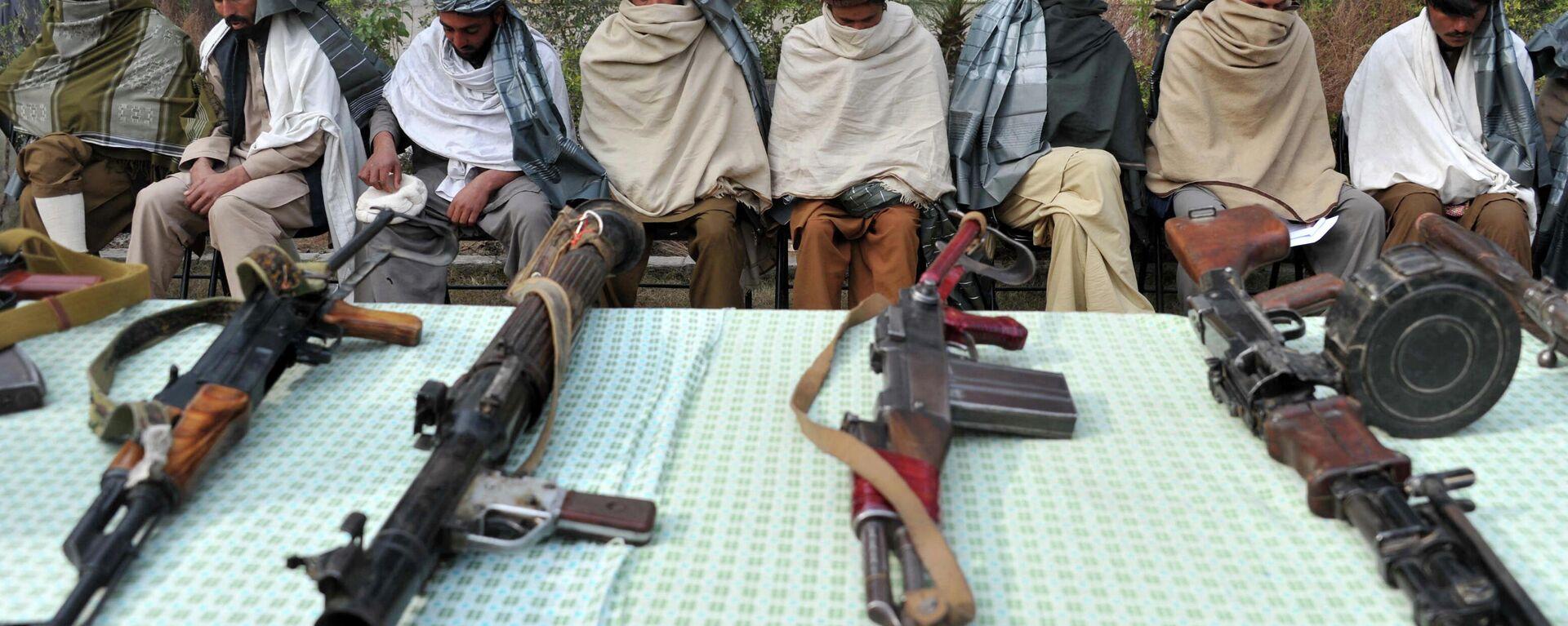Боевики, запрещенного в РФ, движения Талибан - Sputnik Узбекистан, 1920, 08.07.2021