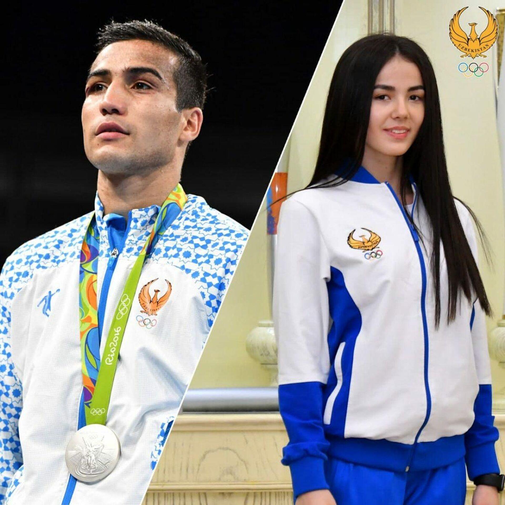 Боксер Шахрам Гиясов и гимнастка Нилуфар Шомурадова отмечают день рождения 7 июля - Sputnik Узбекистан, 1920, 07.07.2021