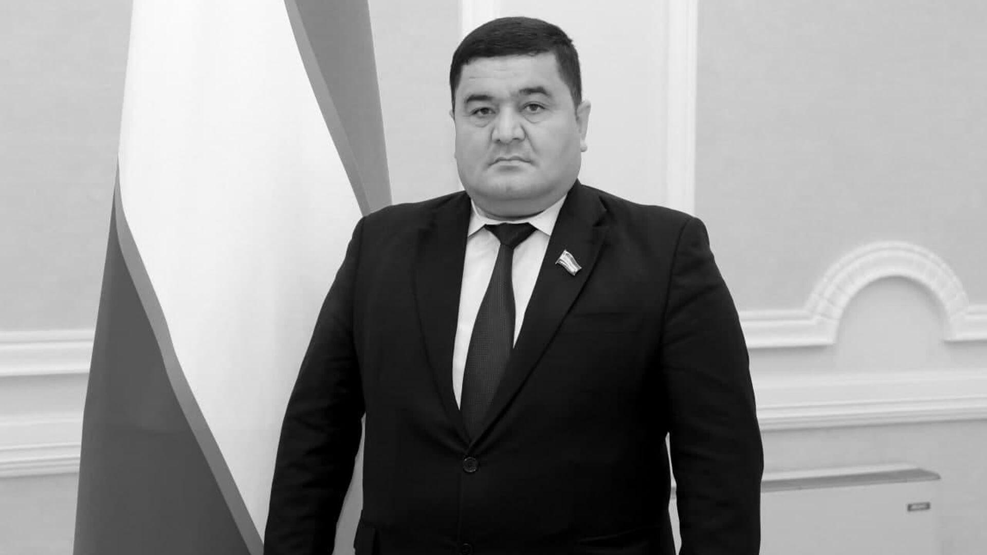 Депутат Законодательной палаты Абдурахим Курбонов - Sputnik Узбекистан, 1920, 08.07.2021
