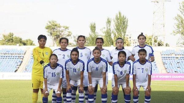 Jenskaya sbornaya Uzbekistana po futbolu U-17 - Sputnik Oʻzbekiston