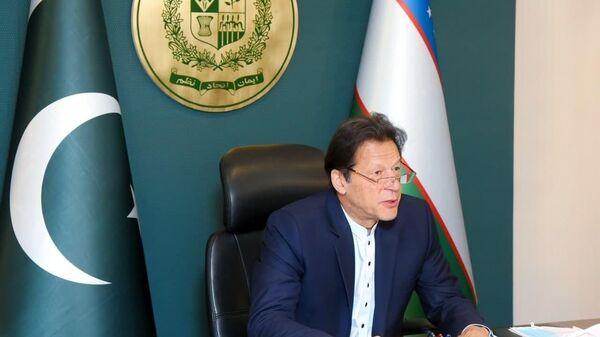 Premyer-ministr Pakistana Imran Xan - Sputnik Oʻzbekiston