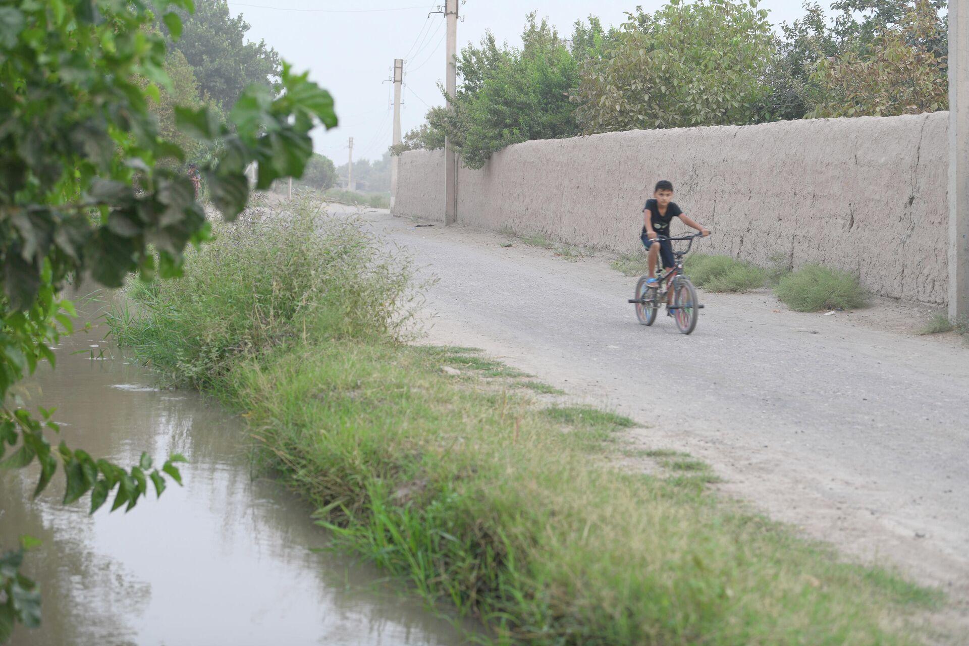 Граничащий с Афганистаном кишлак Ахунбабаев - Sputnik Узбекистан, 1920, 11.07.2021