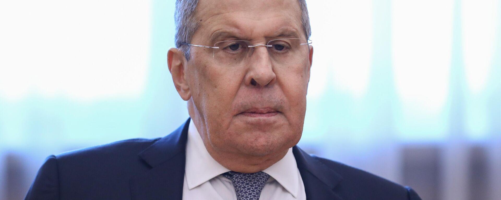 Министр иностранных дел РФ Сергей Лавров - Sputnik Узбекистан, 1920, 16.07.2021