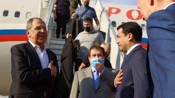 Сергей Лавров во время визита в Ташкент - Sputnik Узбекистан