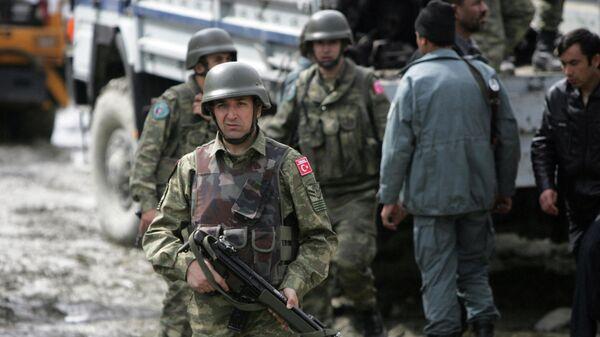 Турецкие военнослужащие в Кабуле - Sputnik Узбекистан