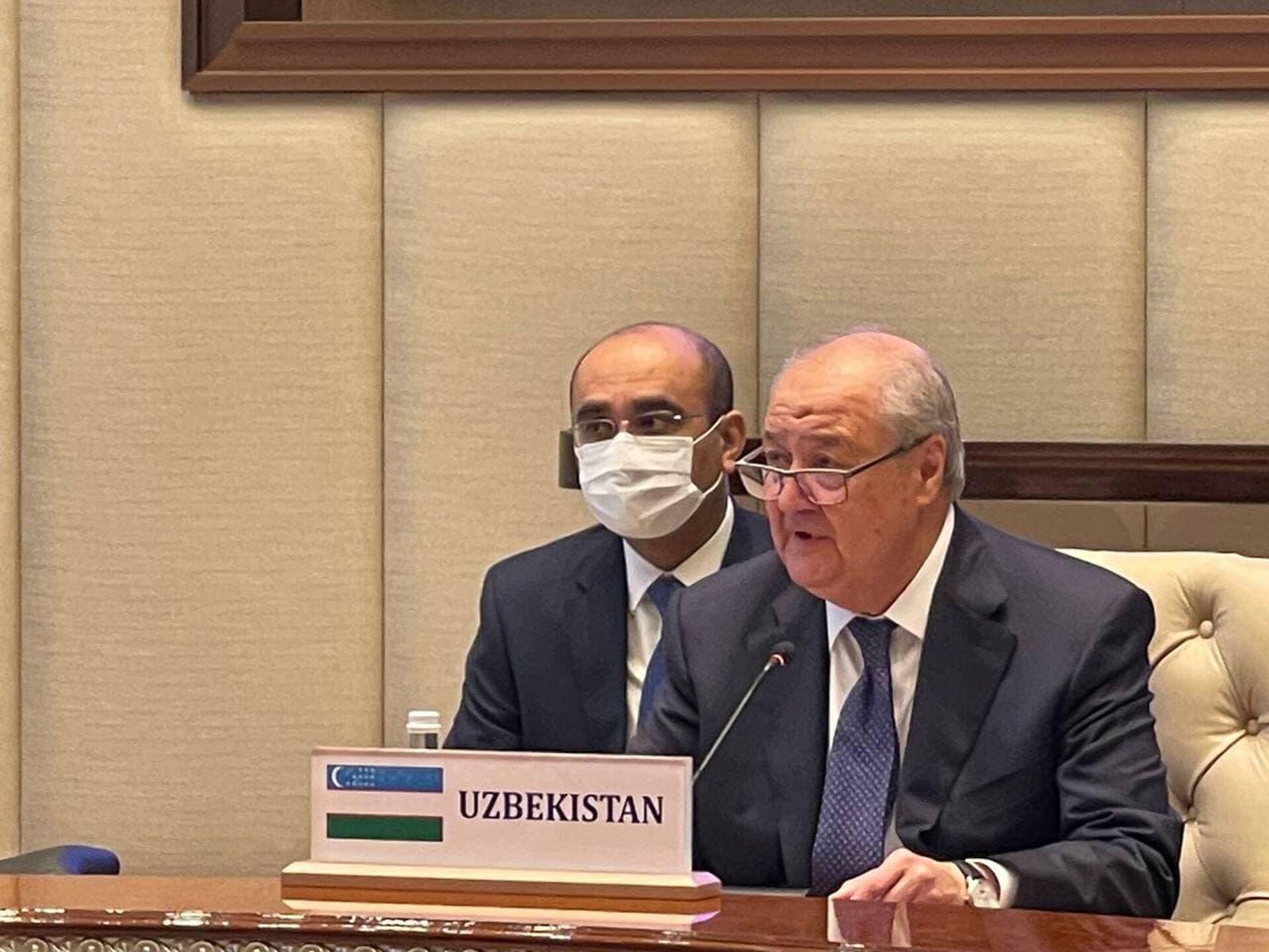 Встреча в формате С5+1 в Ташкенте 15 июля 2021 года - Sputnik Узбекистан, 1920, 15.07.2021