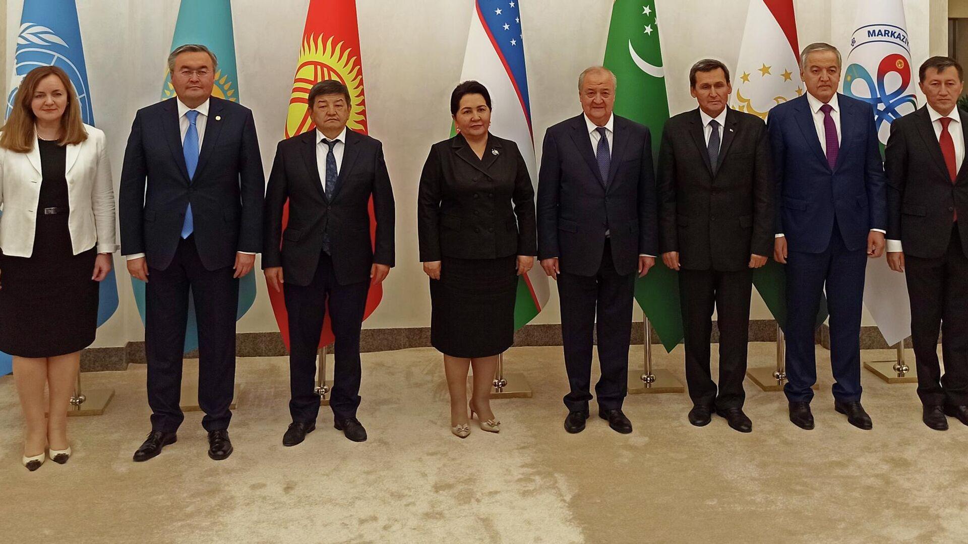 Церемония открытия международного института Центральной Азии в Ташкенте - Sputnik Узбекистан, 1920, 15.07.2021