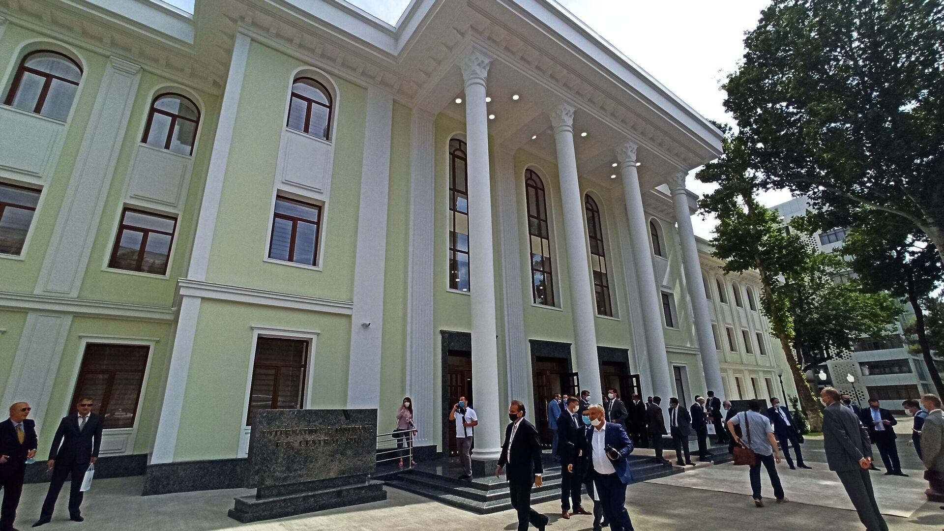 Здание международного института Центральной Азии в Ташкенте - Sputnik Узбекистан, 1920, 15.07.2021