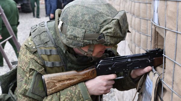 Военные учения, архивное фото - Sputnik Узбекистан