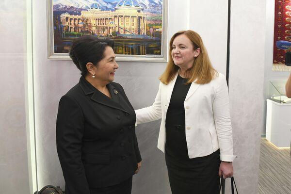 Тонзилла Нарбаева и Наталья Герман - Sputnik Узбекистан