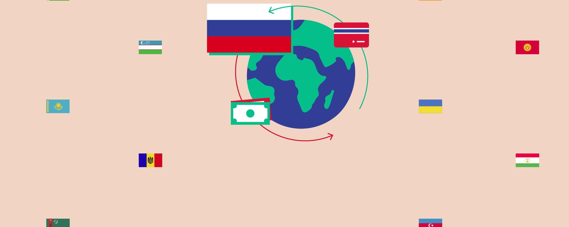 Денежные переводы из России в страны СНГ в 2021 году - чем удивил Узбекистан - Sputnik Узбекистан, 1920, 16.07.2021