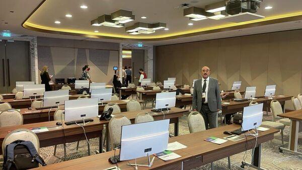 Перед началом конференции Центральная и Южная Азия - Sputnik Узбекистан