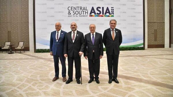 Uzbekistan, SSHA, Pakistan i Afganistan sozdali novuyu ploщadku konsultatsiy - Sputnik Oʻzbekiston