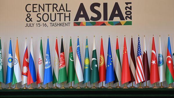 Konferentsiya Tsentralnaya i Yujnaya Aziya v Tashkente - Sputnik Oʻzbekiston