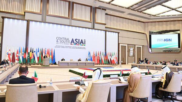 Конференция Центральная и Южная Азия в Ташкенте - Sputnik Узбекистан