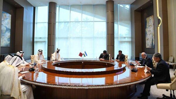 Переговоры глав МИД Узбекистана и Катара - Sputnik Узбекистан