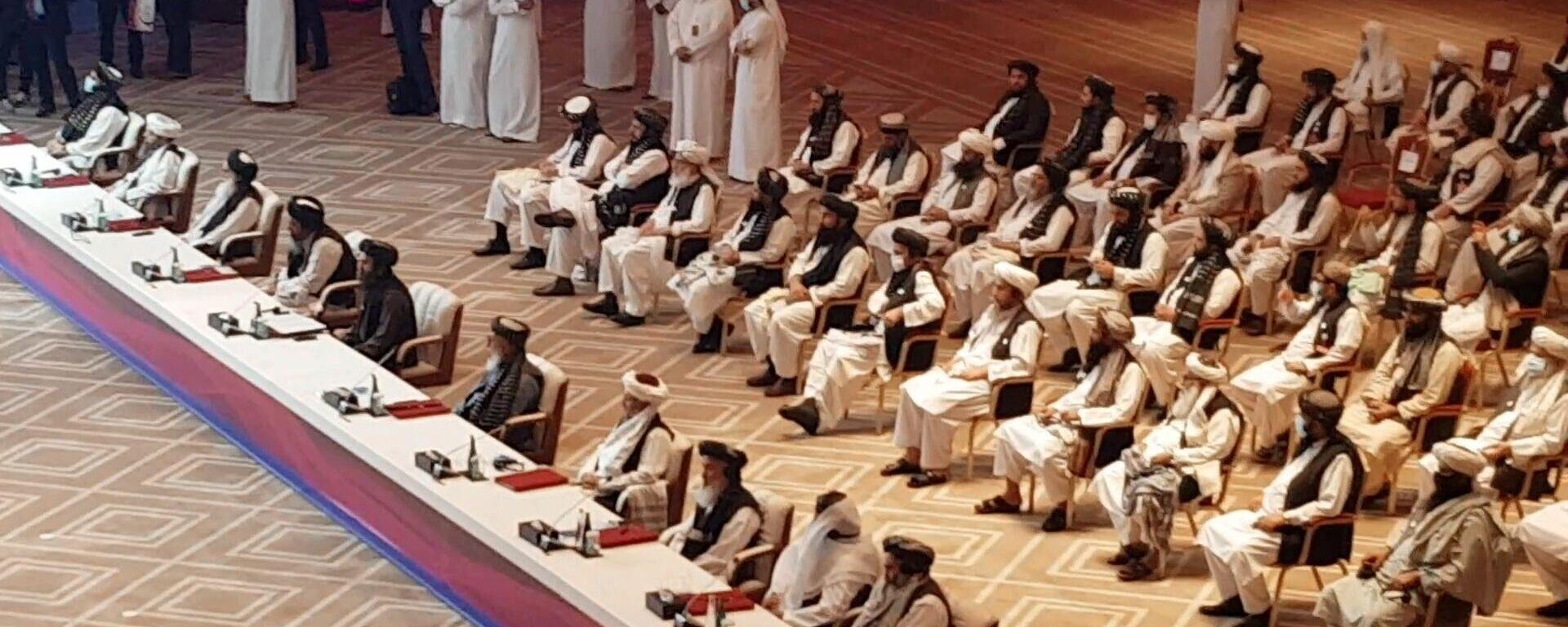 Межафганские переговоры начались в Катаре - Sputnik Узбекистан, 1920, 07.09.2021