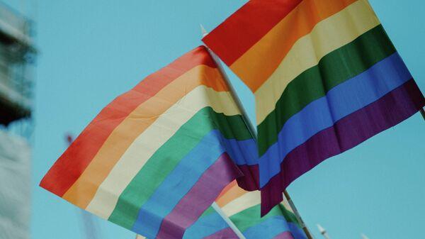 Флаг ЛГБТ - Sputnik Узбекистан