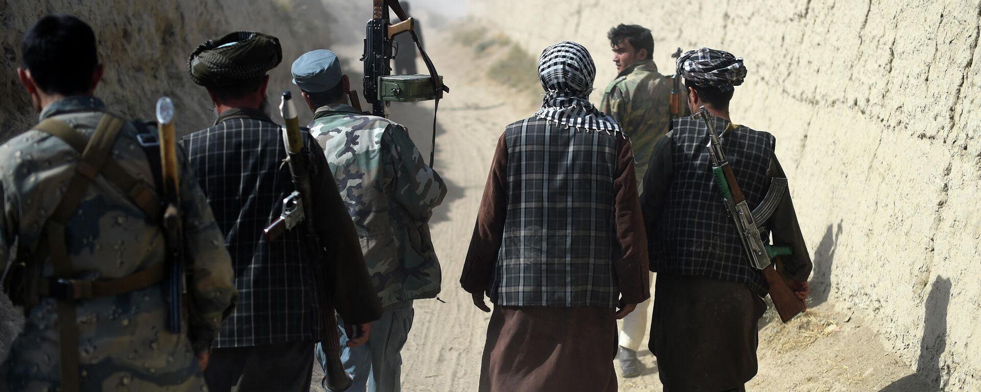 Вооруженные люди в Афганистане - Sputnik Ўзбекистон, 1920, 07.09.2021