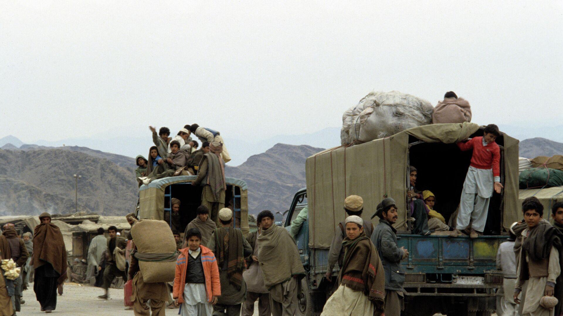 Афганские беженцы - Sputnik Узбекистан, 1920, 22.07.2021