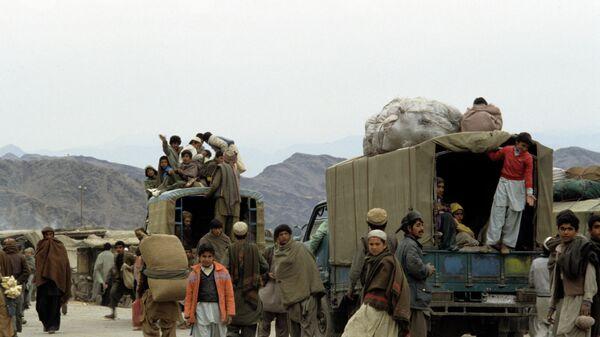 Афганские беженцы - Sputnik Ўзбекистон
