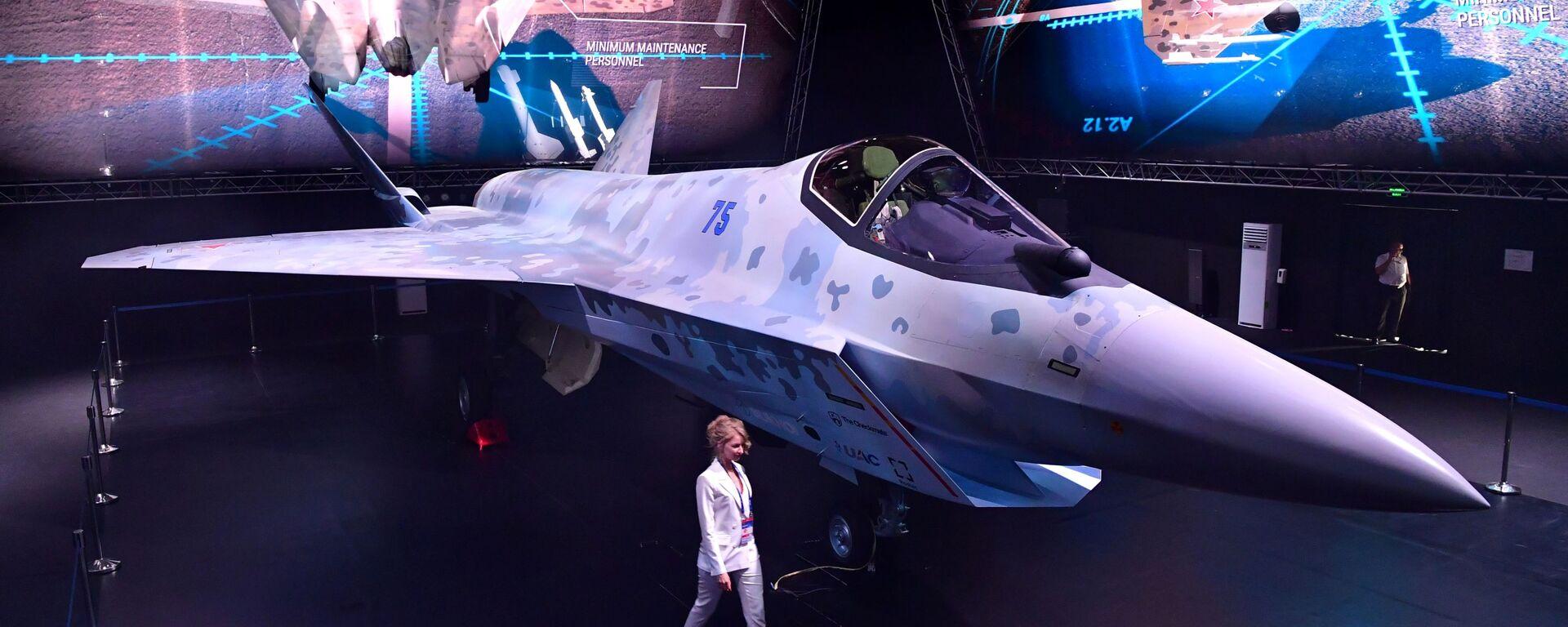 Презентация нового военного самолета Checkmate на МАКС-2021 - Sputnik Ўзбекистон, 1920, 21.07.2021