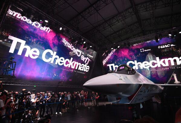 Представленный образец - не макет, а прототип. Он поднимется в воздух в 2023 году.  - Sputnik Узбекистан