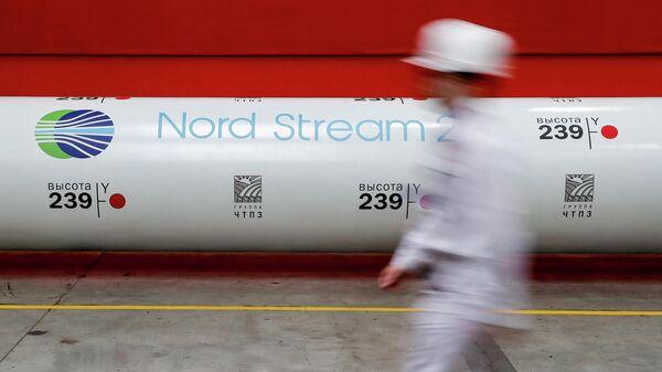 Труба газопровода Северный поток - 2  - Sputnik Узбекистан