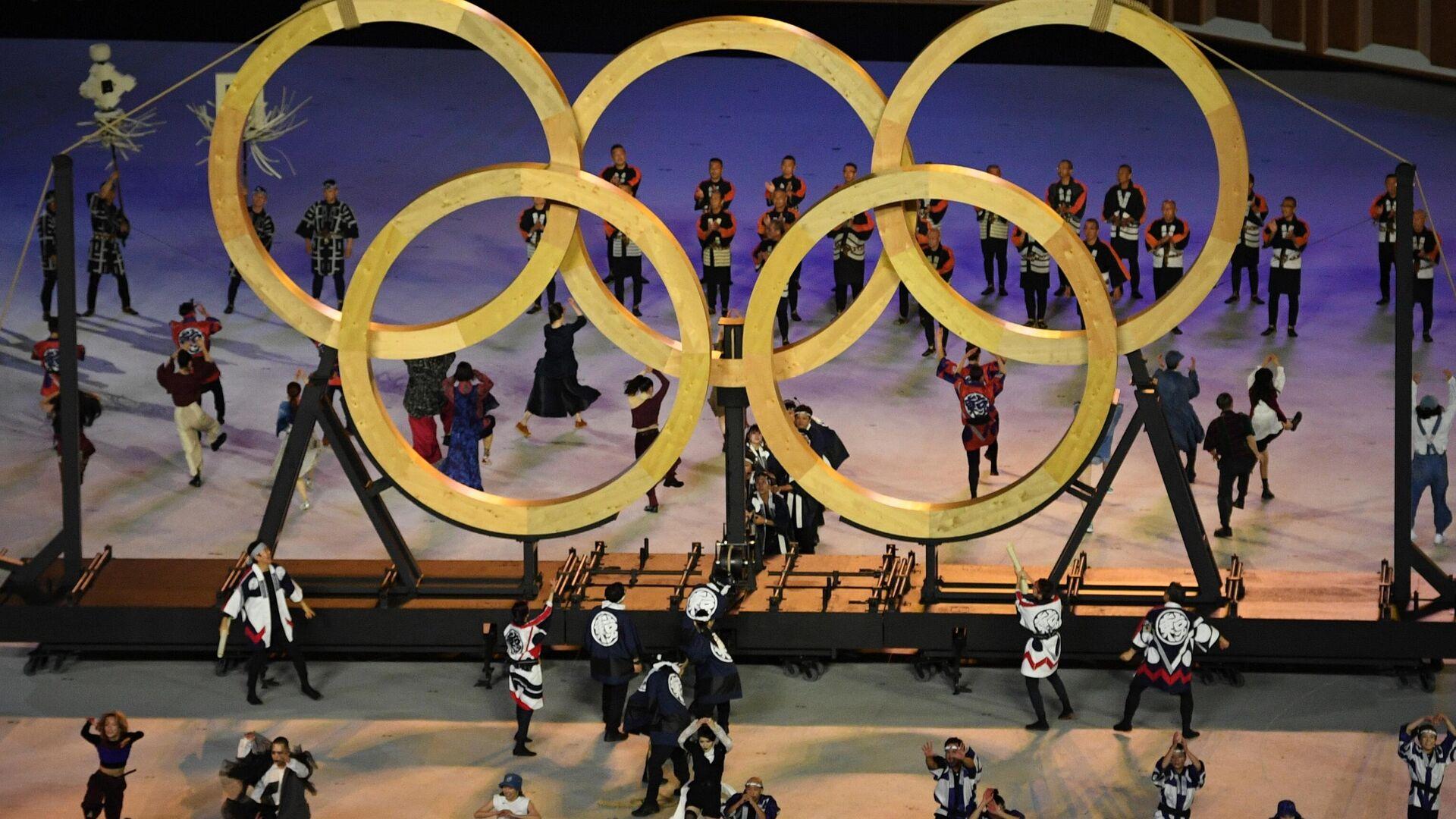 Церемония открытия XXXII летних Олимпийских игр - Sputnik Узбекистан, 1920, 23.07.2021
