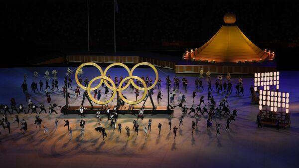 Церемония открытия XXXII летних Олимпийских игр - Sputnik Ўзбекистон
