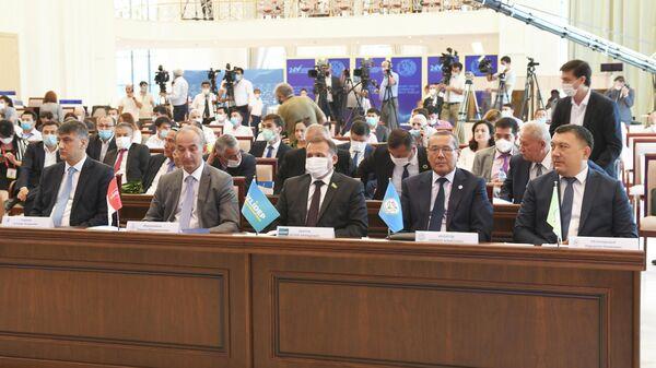 Лидеры политический партий Узбекистана на заседании ЦИК, посвященном старту президентской избирательной кампании - Sputnik Ўзбекистон