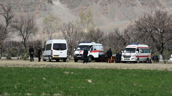 Mashina skoroy pomoщi v Tadjikistane - Sputnik Oʻzbekiston