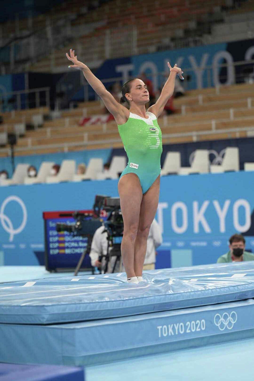 Гимнастка Оксана Чусовитина прощается со спортом после восьмой Олимпиады в карьере - Sputnik Узбекистан, 1920, 25.07.2021