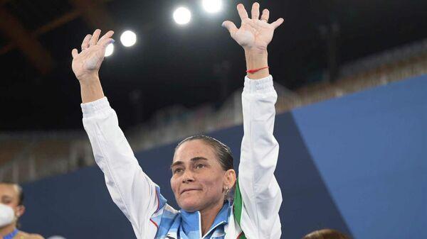 Гимнастка Оксана Чусовитина прощается со спортом после восьмой Олимпиады в карьере - Sputnik Узбекистан