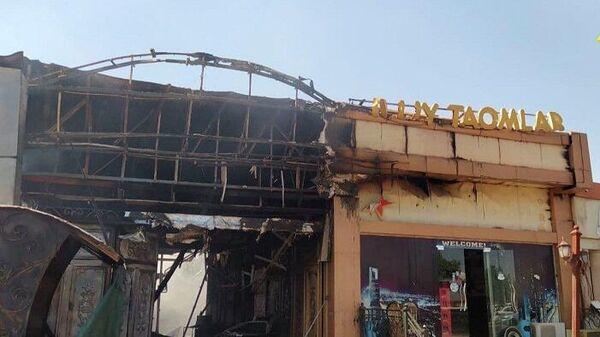Спасатели ликвидировали пожар в столичном кафе - Sputnik Узбекистан