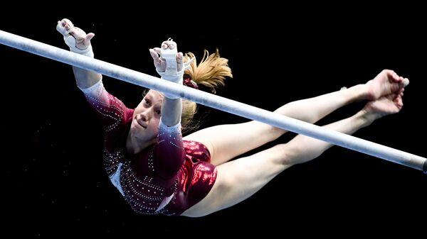 Российская гимнастка Виктория Листунова - Sputnik Ўзбекистон