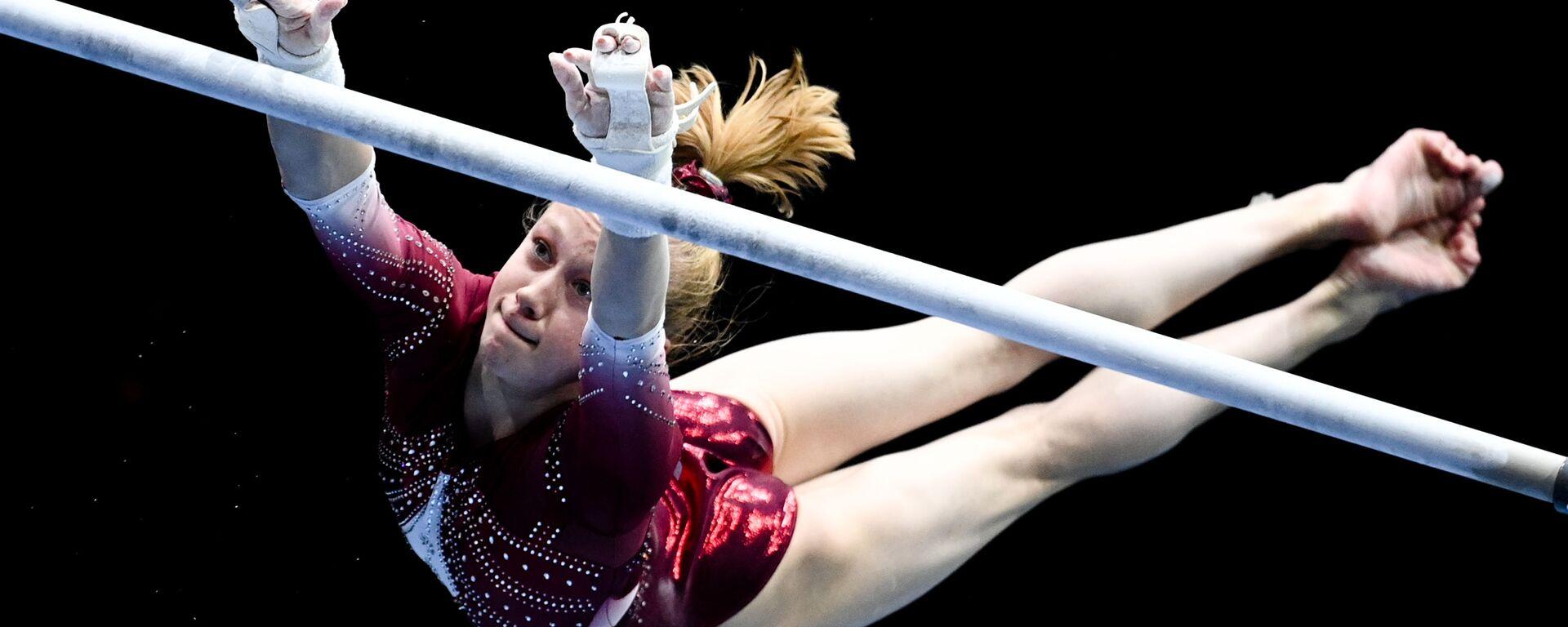 Российская гимнастка Виктория Листунова - Sputnik Ўзбекистон, 1920, 27.07.2021